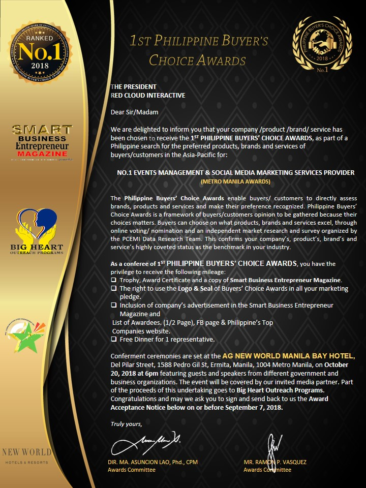 Philippine Buyer's Choice Awards