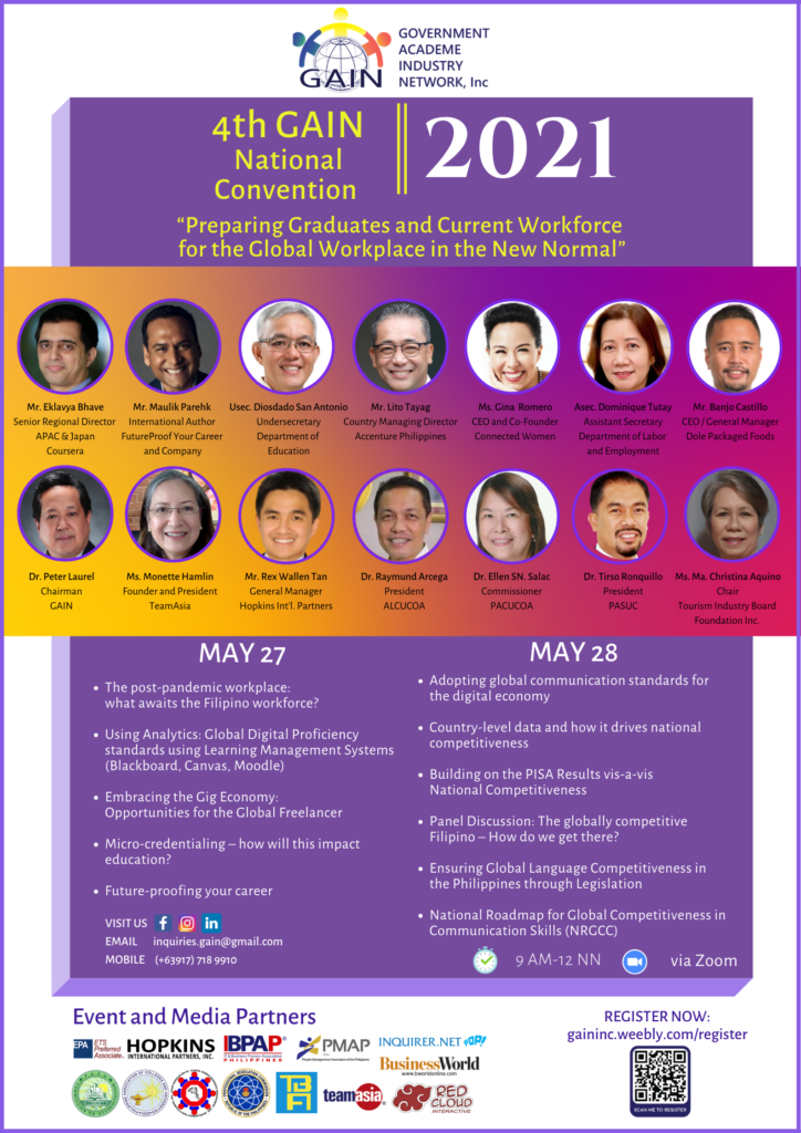 The 4th GAIN Convention_Event Poster